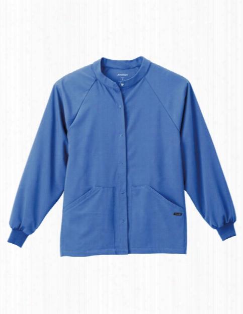 Jockey Ultimate Unisex Warm-up Jacket - Ceil - Unisex - Unisex