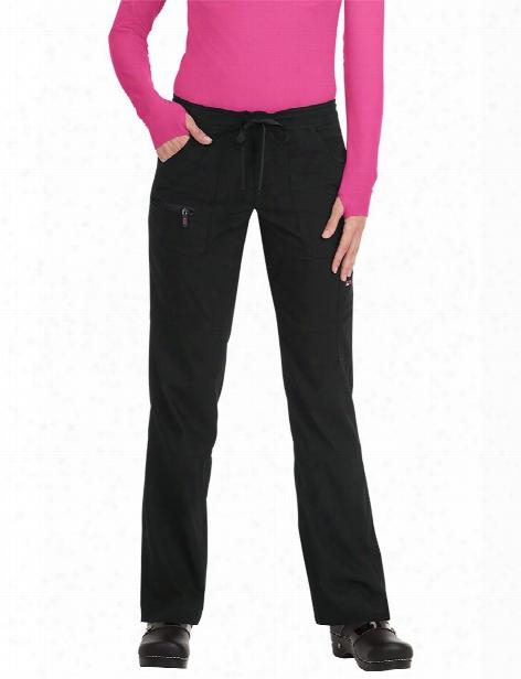Koi Lite Peace Scrub Pant - Black - Female - Women's Scrubs