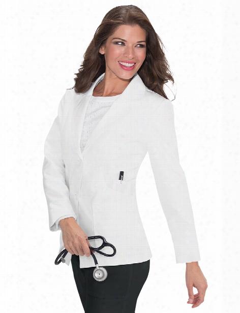 Koi Macie Lab Coat - White - Female - Women's Scrubs