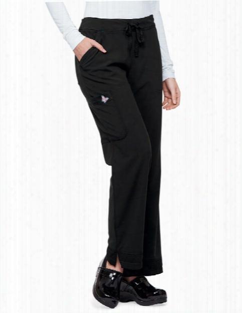 Koi Mariposa Maria Scrub Pant - Black - Female - Women's Scrubs