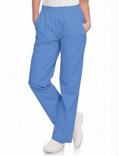 Landau Relaxed Scrub Pant - Ceil Blue - Female - Women's Scrubs