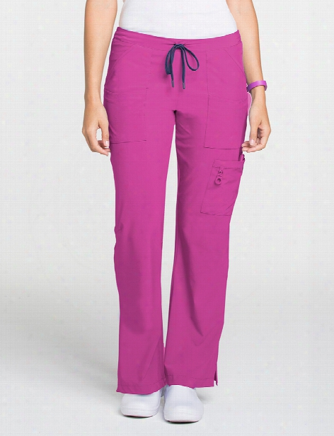 Lynx Trailblazer Scrub Pant - Lynx Poppy - Female - Women's Scrubs