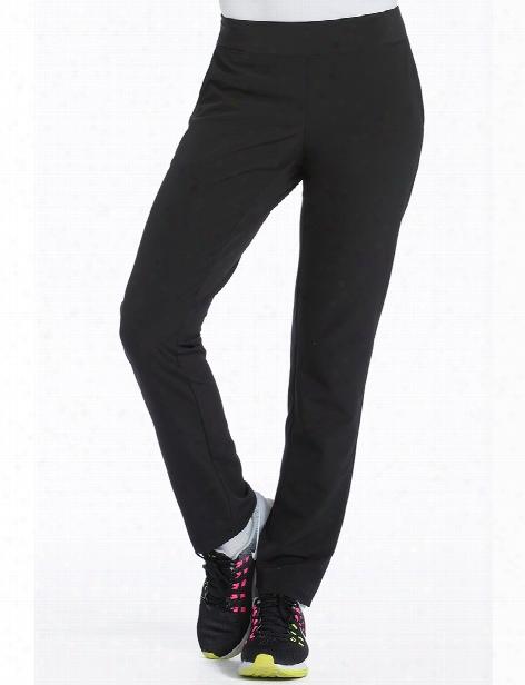 Med Couture 4-ever Flex Power Scrub Pant - Black - Female - Women's Scrubs