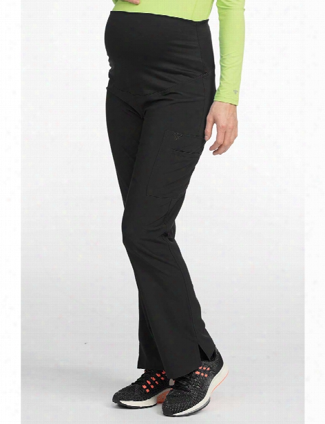 Med Couture Activate Maternity Scrub Pant - Black - Female - Women's Scrubs