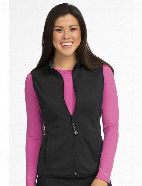 Med Couture Activate Med Tech Vest - Black - Female - Women's Scrubs