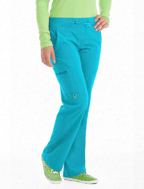Med Couture Activate Transformer Pant - Aquamarine - Female - Women's Scrubs