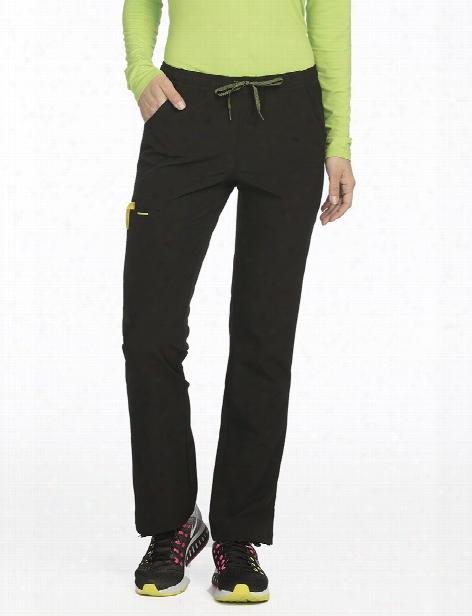 Med Couture Air Cloud 9 Scrub Pant - Black-apple - Female - Women's Scrubs