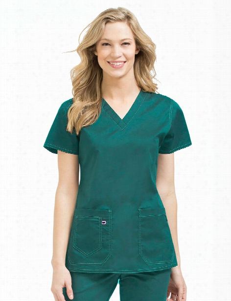 Med Couture Clearance Mcâ³ Olivia Scrub Top - Hunter - Unisex - Clearance