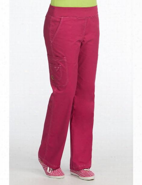 Med Couture Mcâ³ Yoga Scrub Pant - Cranberry - Female - Women's Scrubs