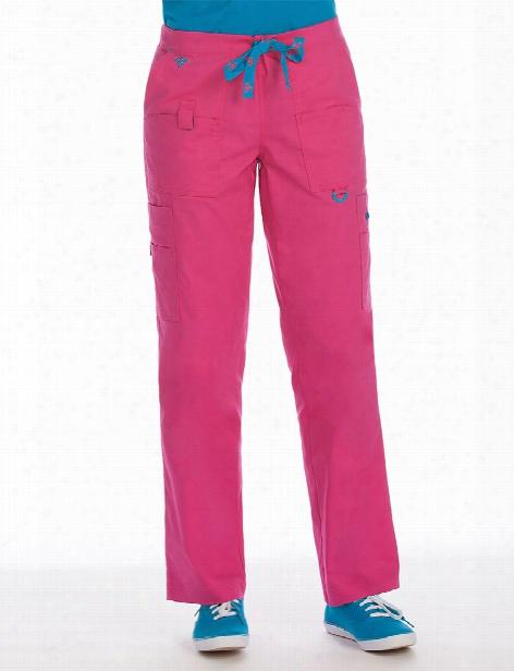 Med Couture Rescue Scrub Pant - Azalea-harbor Blue - Female - Women's Scrubs
