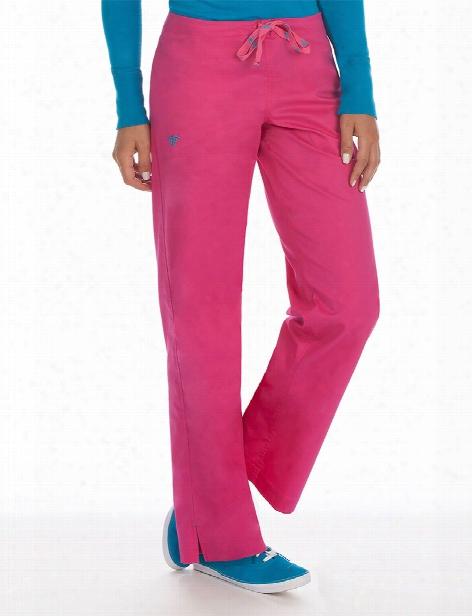 Med Couture Signature Scrub Pant - Azalea-harbor Blue - Female - Women's Scrubs