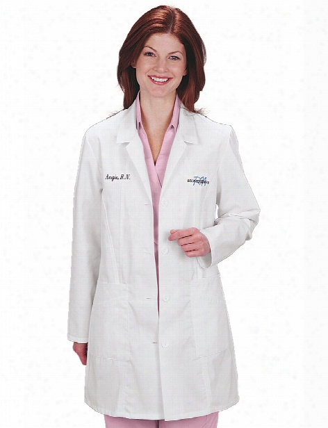 Meta Labwear Ladies Lab Coat - Print - Female - Women's Scrubs