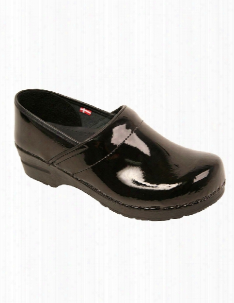 Sanita Professional Patent Clog - Black - Female - Women's Scrubs