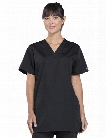 Cherokee WorkWear Originals Unisex V-Neck Scrub Top - Black - unisex - Unisex