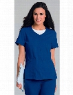 Urbane Ultimate Megan Snap-Front Jacket - Royal Blue - female - Women's Scrubs