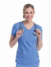 Urbane Ultimate Ultra Julie Classic 4-Pocket Tunic - CEIL-PAPYA - female - Women's Scrubs