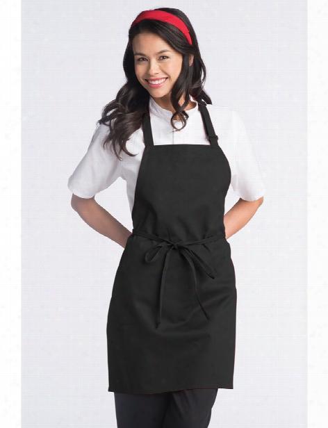 Uncommon Threads Adjustable Bib Apron - Black - Unisex - Chefwear