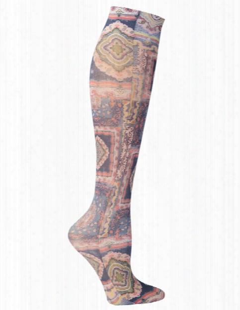Celeste Stein Celeste Stein Pastel Marakesh Compression Knee High Socks - Female - Women's Scrubs