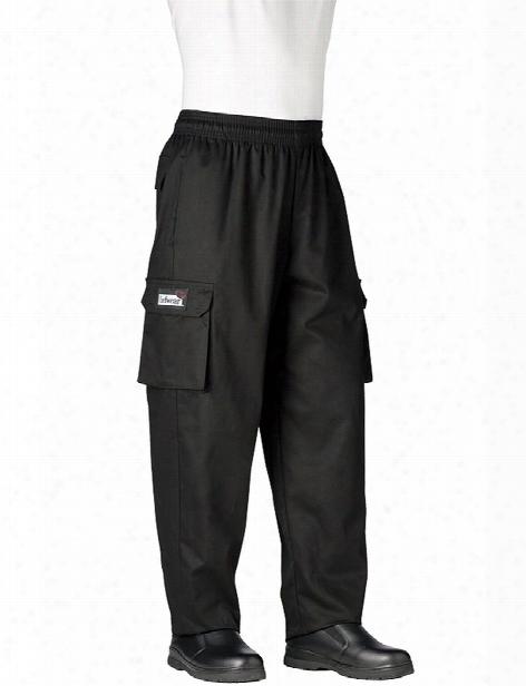 Chefwear Cargo Chef Pant - Black - Unsiex - Chefwear