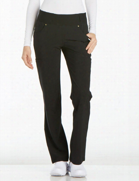 Cherokee Iflex Cargo Pant - Black - Female - Women's Scrubs