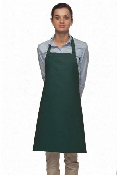 Daystar No Pcoket Bib Apron - Hunter - Unisex - Chefwear
