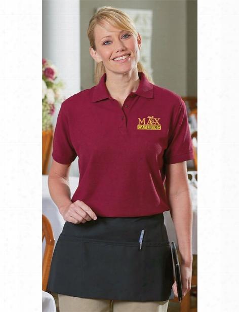 Daystar Three Pocket Waist Apron - Black - Unisex - Chefwear