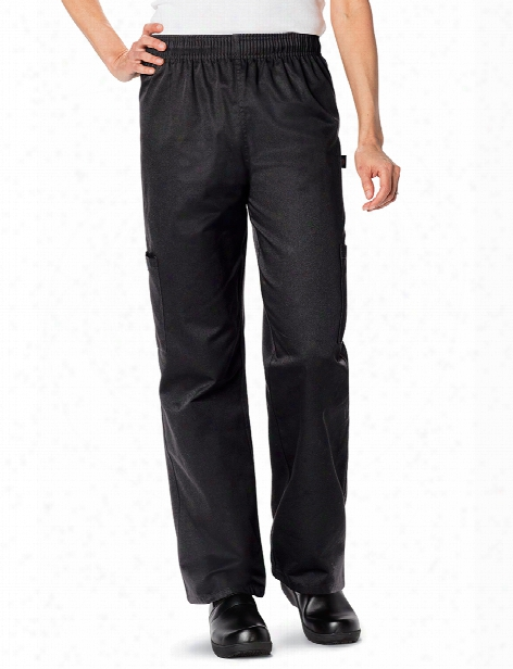 Dickies Chef Unisex Chef Pant - Black - Unisex - Chefwear