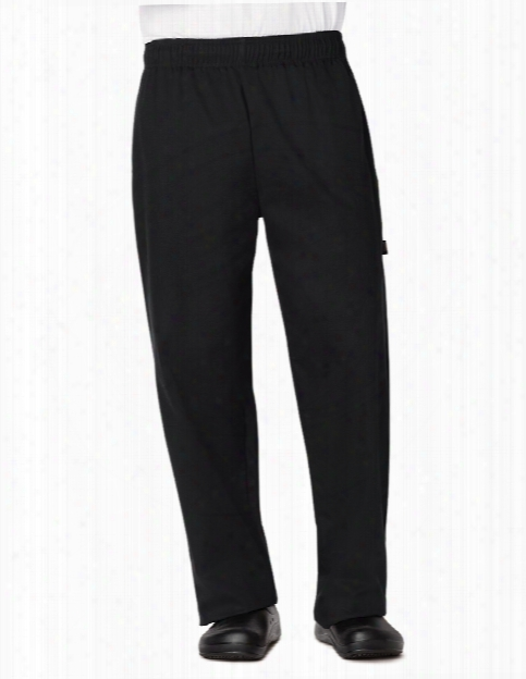 Dickies Chef Unisex Traditional Baggy Pant - Black - Unisex - Chefwear