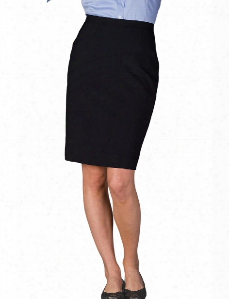 Edwards Dress Skirt - Black - Unisex - Corporate Apparel