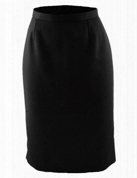 Edwards Straight Skirt - Black - Unisex - Corporate Apparel