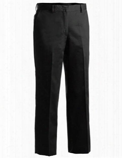 Edwards Womens Chino Pant - Black - Unisex - Chefwear