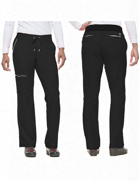 Healing Hands Hh360 Nisha Scrub Pant - Black - Female - Women's Scrubs