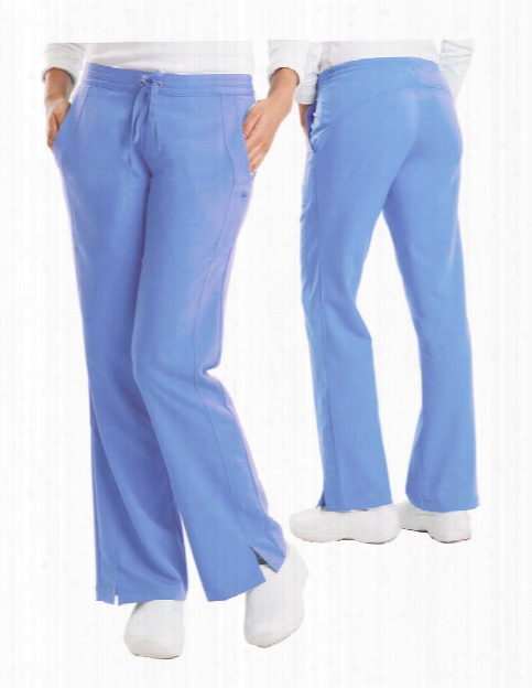 Healing Hands Purple Label Clearance Taylor Pant - Angel Blue - Female - Women's Scrubs