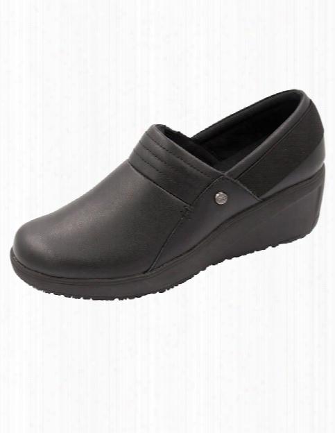 Infinity Footwear Glide Slip Resistant Shoe - Black - Female - Women's Scrubs