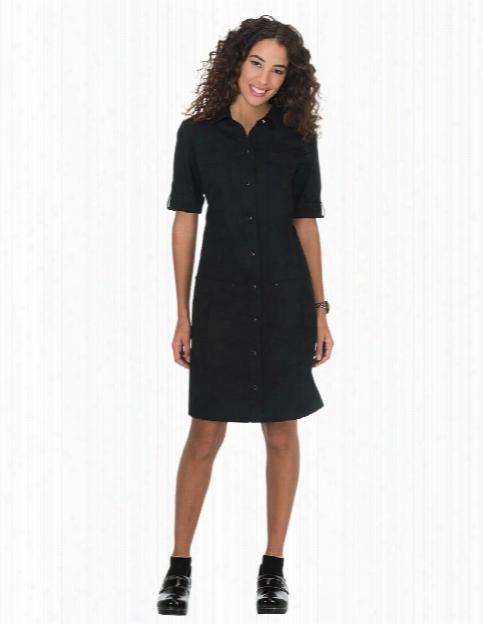Koi Alexandra Dress - Black - Female - Women's Scrubs