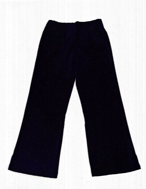 Natural Uniforms Ultrasoft 4 Pocket Drawstring Scrub Pant - Black - Female - Women's Scrubs