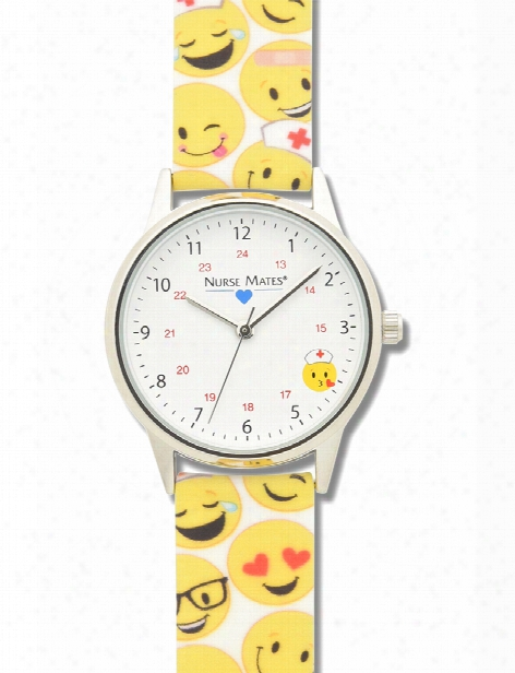 Nurse Mates Nurse Mates Emoji Strap Watch - Unisex - Medical Supplies