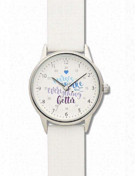 Nurse Mates Nurse Mates Nurses Slogan Watch - Unisex - Medical Supplies