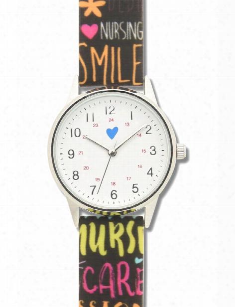 Nurse Mates Nurse Mates Pop Art Watch - Unisex - Medical Supplies