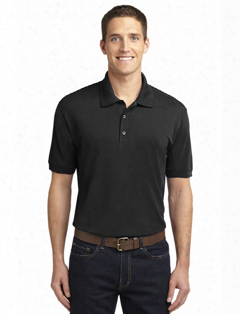 Port Authority 5-in-1 Performance Pique Polo - Black - Unisex - Corporate Apparel