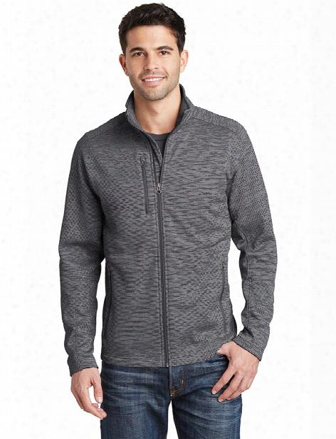Port Authority Digi Stripe Fleece Jacket - Black - Unisex - Corporate Apparel