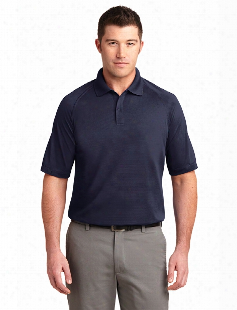 Port Authority Dry Zone Ottoman Polo - Navy - Unisex - Corporate Apparel