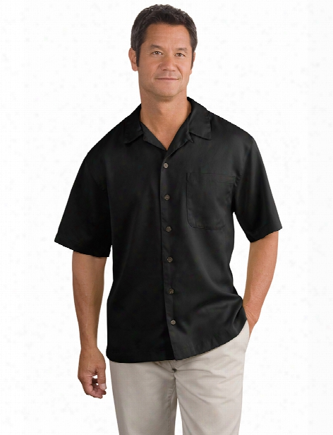 Port Authority Easy Care Camp Shirt - Black - Unisex - Corporate Apparel