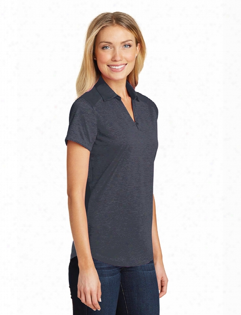 Port Authority Ladies Performance Polo - Dark Grey - Unisex - Corporate Apparel