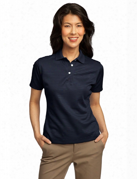 Port Authority Ladies Shadow Stripe Shirt - Navy - Unisex - Corporate Apparel