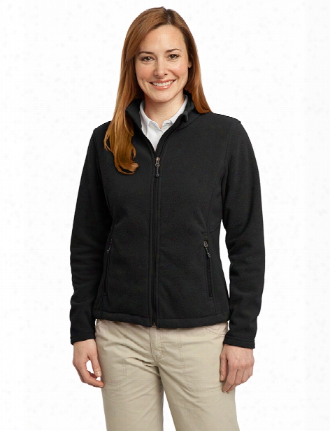 Port Authority Ladies Value Fleece Jacket - Black - Unisex - Corporate Apparel