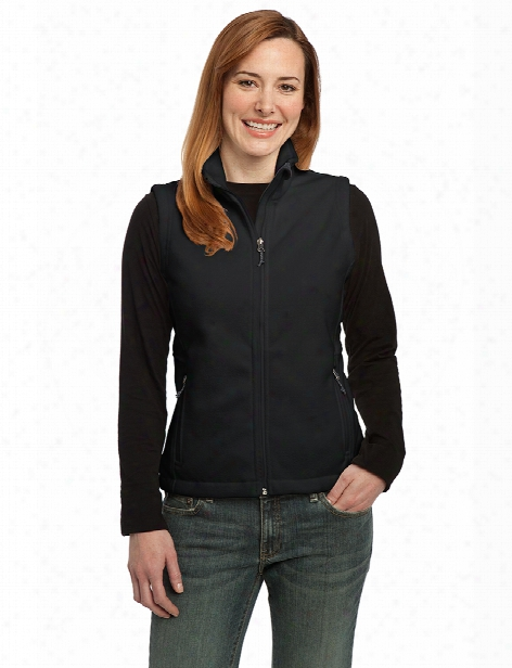 Port Authority Ladies Value Fleece Vest - Black - Unisex - Corporate Apparel