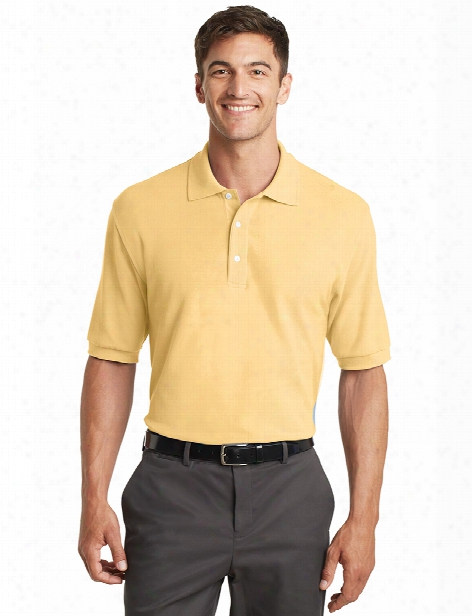 Port Authority Pima Cotton Pique Sport Polo Shirt - Banana - Unisex - Corporate Apparel