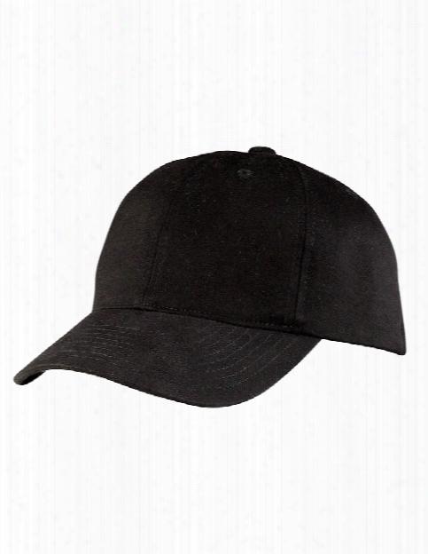 Port Authority Portflex Structured Cap - Black - Unisex - Corporate Apparel