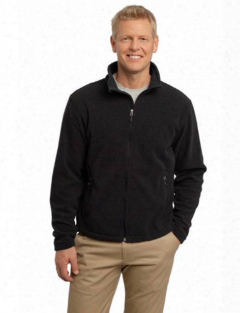 Port Authority Value Fleece Jacket - Black - Unisex - Corporate Apparel